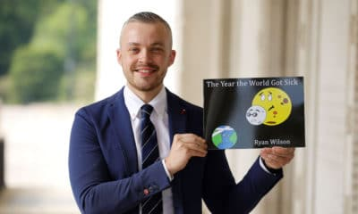 Lurgan classroom assistant and children's author Ryan Wilson