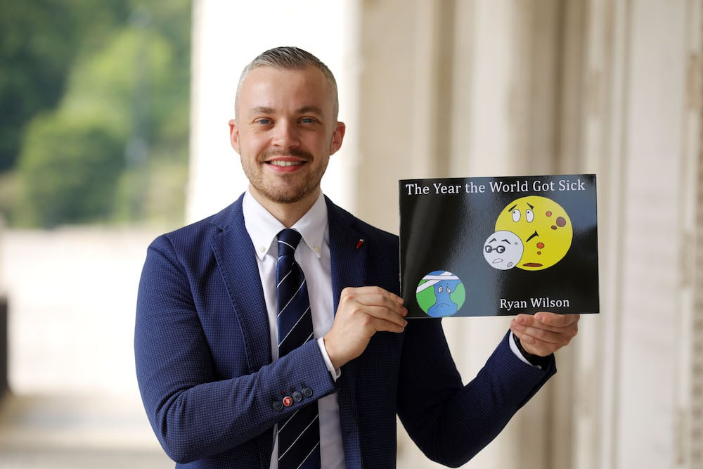 Lurgan classroom assistant and children's author Ryan Wilson
