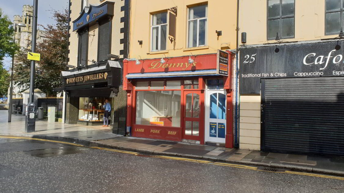 Hill Street Newry plans Coffee Shop