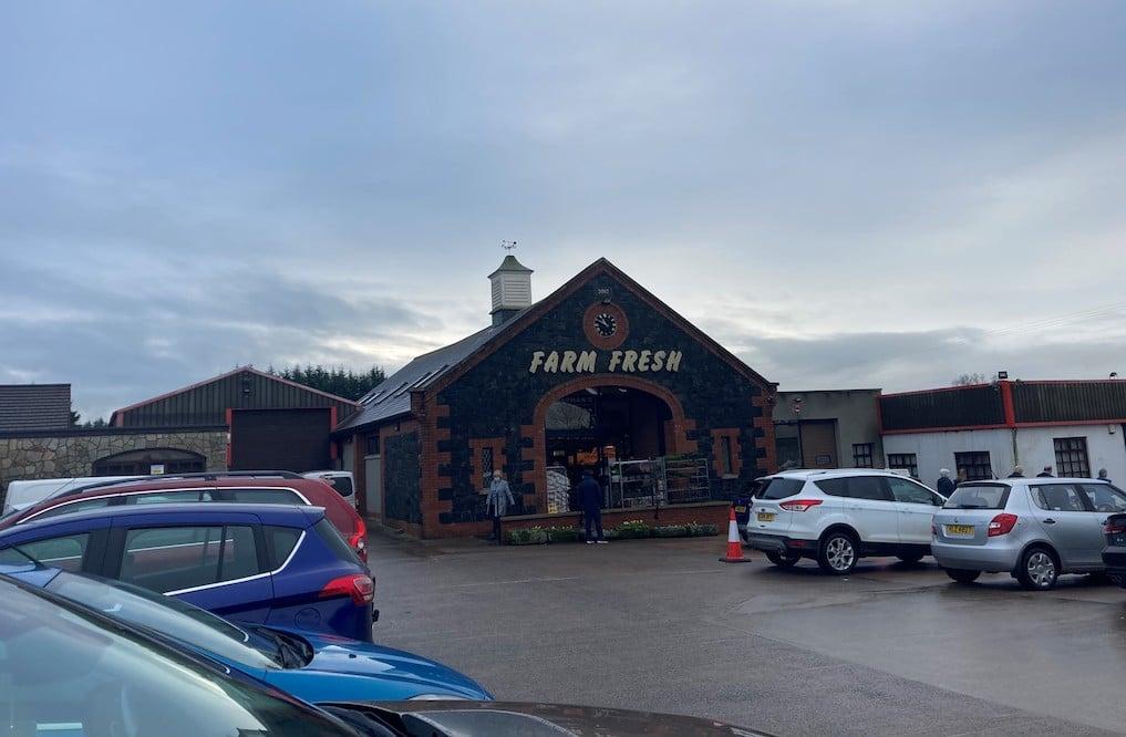 Chapman's farm shop Portadown