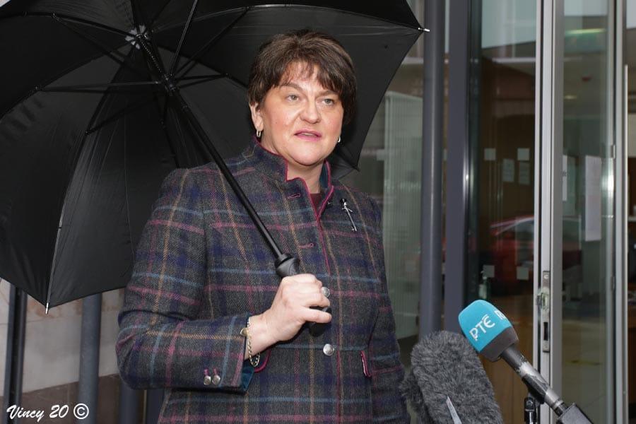First Minister Arlene Foster