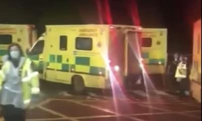 Daisy Hill Hospital ambulance