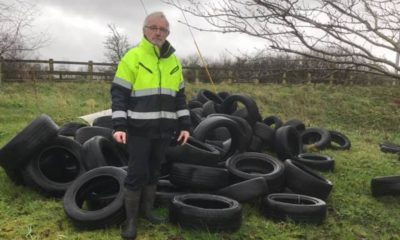 Eamon McNeill tyre dump