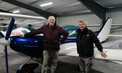 Raphael O'Caroll (left) and Liam Lynch