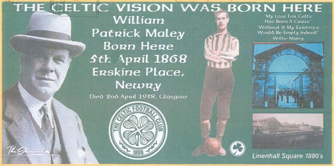 Celtic mural Newry