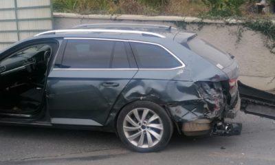 Jonesborough Police car rammed