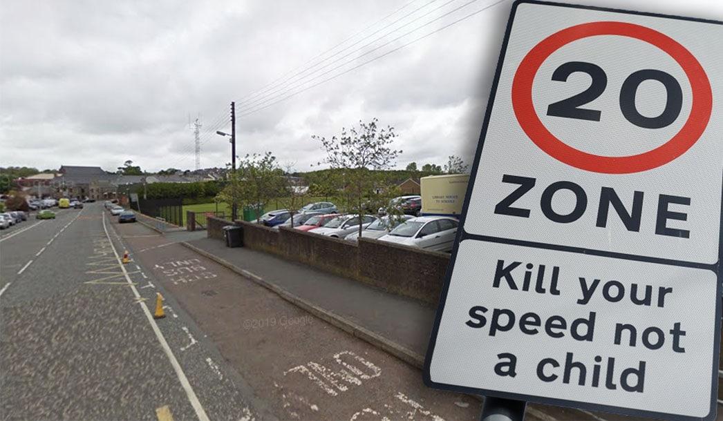 Markethill 20mph zone