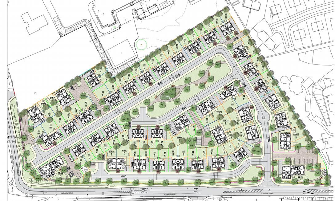 Newry housing development plans