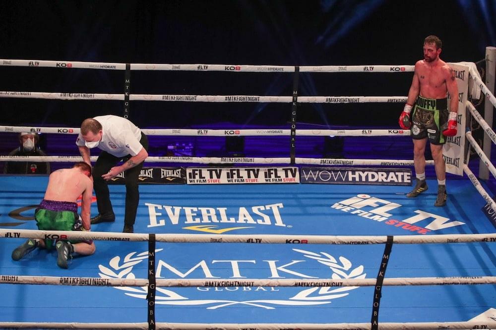 Sean Duffy boxing Paul Holt