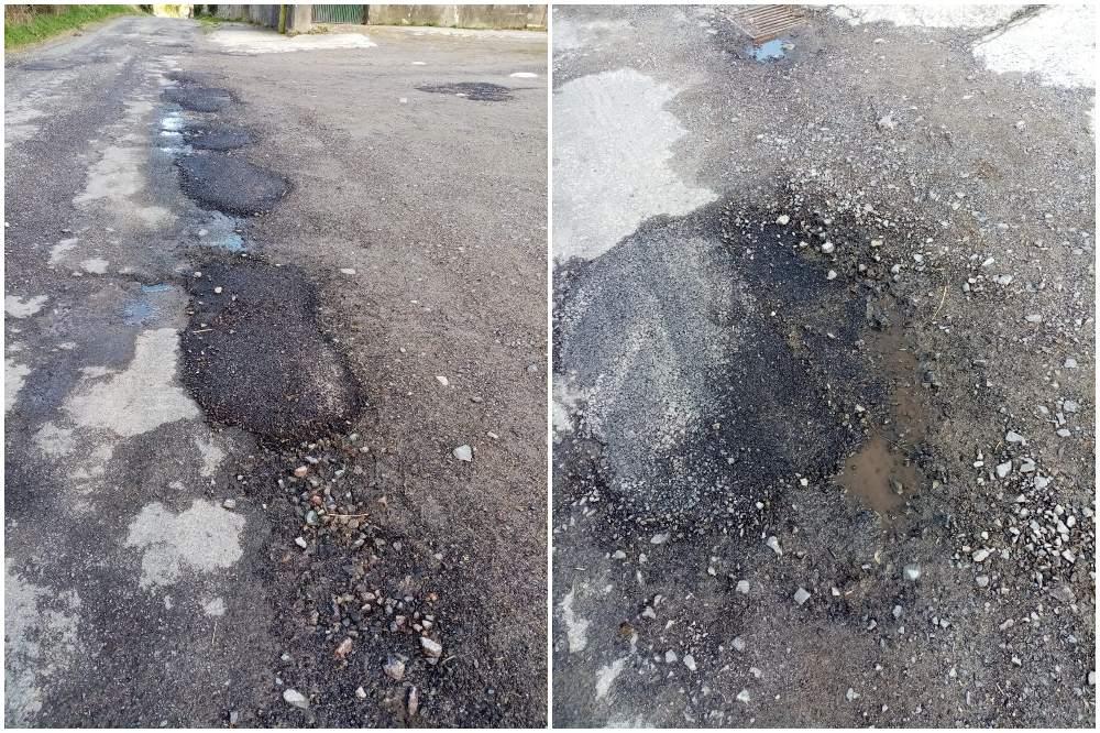 Potholes south Armagh