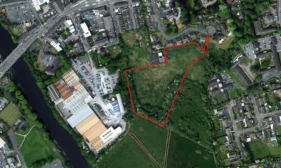 Aerial view Roslyn Avenue development Portadown