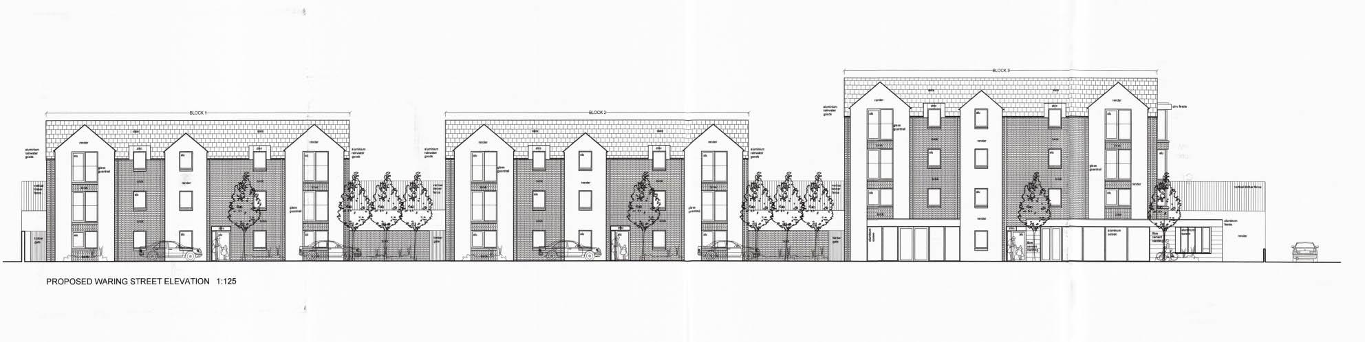 Lurgan apartments Edward Street