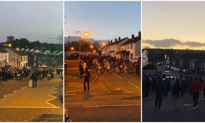 Markethill protest