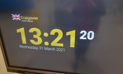 Southern Trust clock