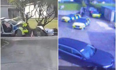 Keady police incident