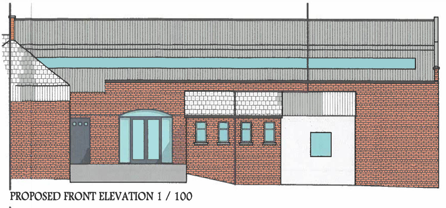 Restaurant plans at Bleary Mill