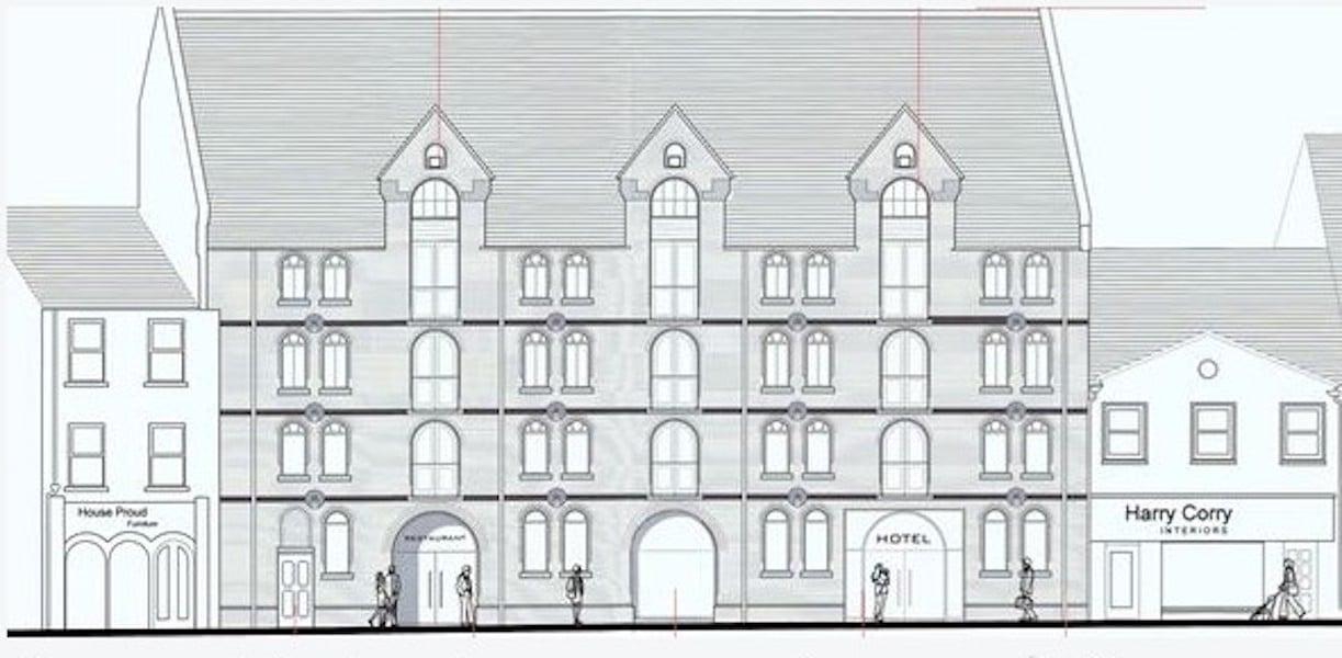 hill Street Newry hotel plans