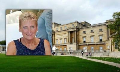 Adela Beggs Buckingham Palace