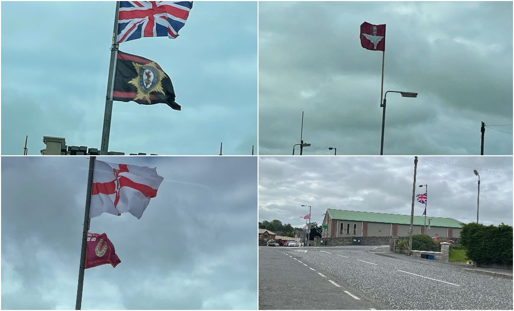 Markethill flags