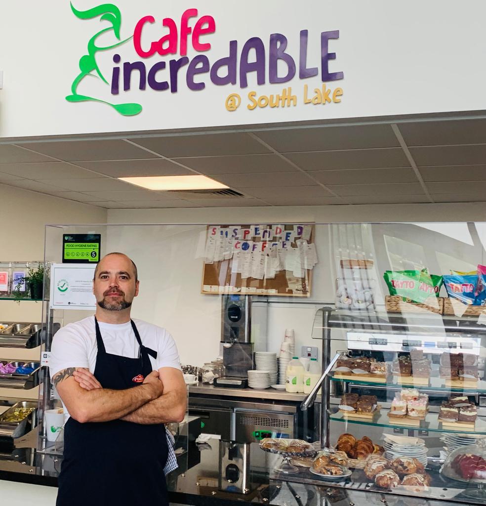 Ciaran Penney Cafe incredABLE Craigavon