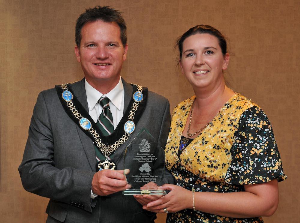 Lord Mayor Alderman Glenn Barr and Lady Mayoress, Mrs Andrea Barr