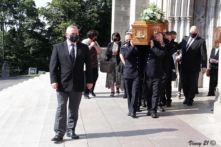 Brian Hamilton funeral