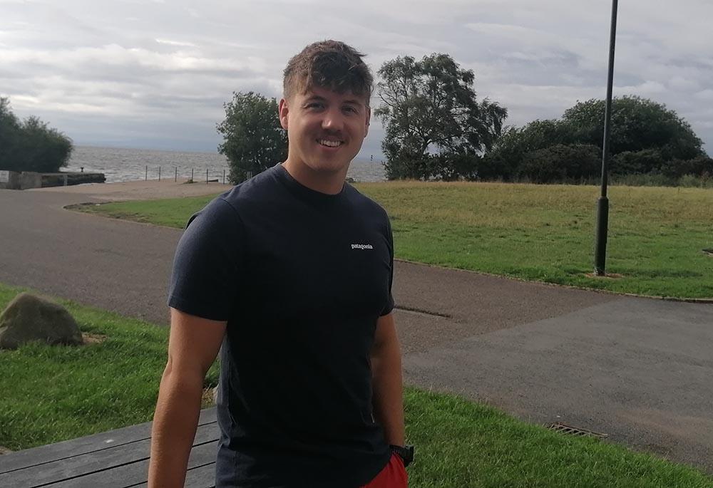 Jordan Leckey Portadown swimmer