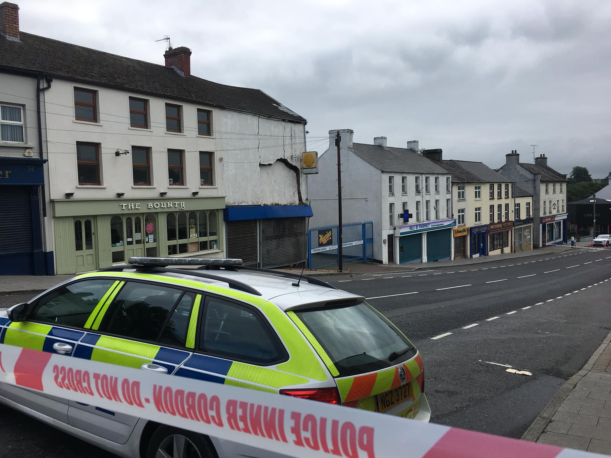 Tandragee building collapse