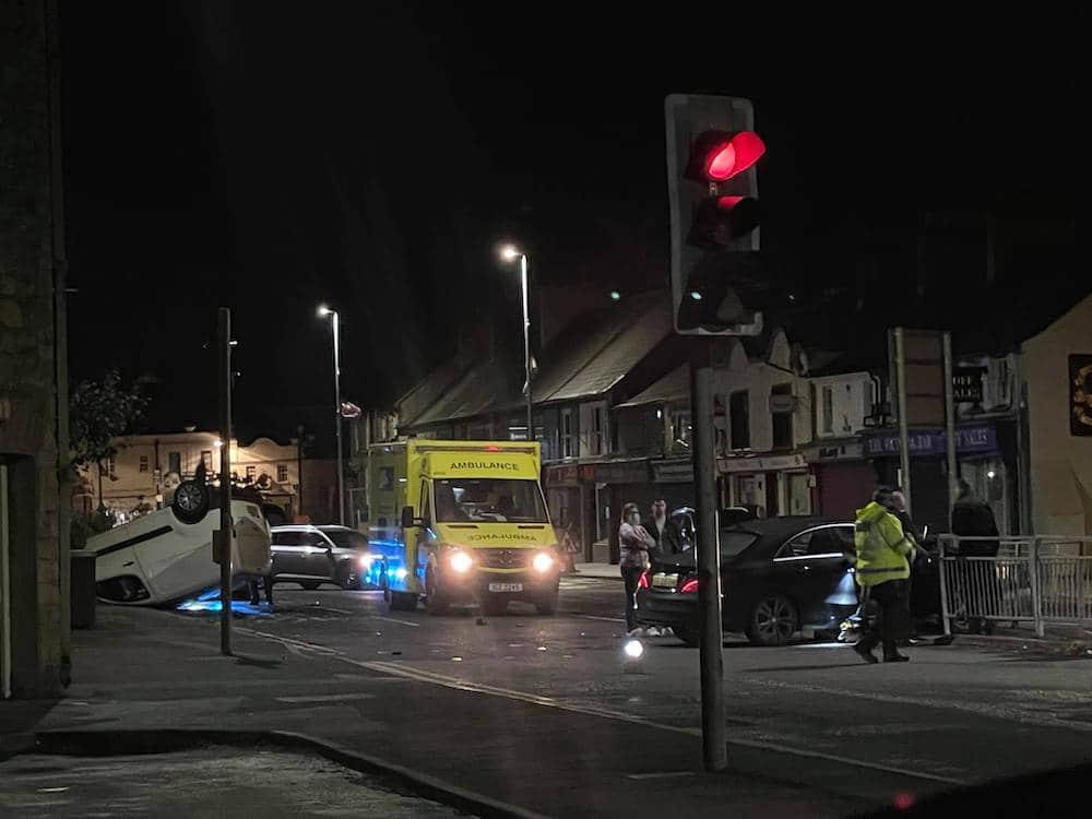 Armagh crash Barrack Street