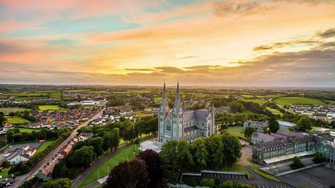 Armagh city aerial