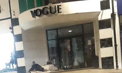 Homeless men Armagh