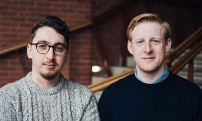 Oisin Kearney (left) and Michael Patrick